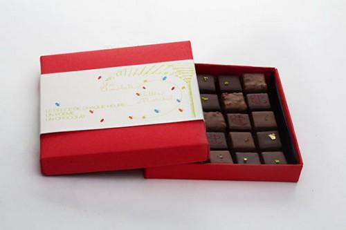 קופסת שוקלד אדומה צילום: שירן כרמל