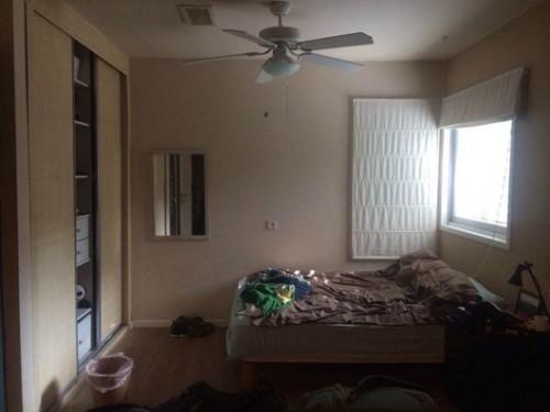החדר של תומר לפני. צילום: ויקי מוצפי