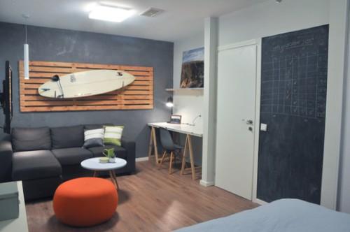 החדר של תומר. עיצוב: אביטל לור, מעיין גבאי וקרן אלבוים. צילום: ויקי מוצפי