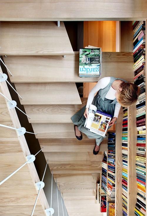 ספריה, צילום Filip Dujardin