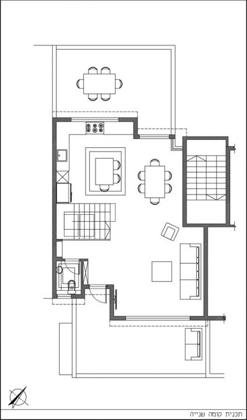 דירה ברמת אביב - הדירה הפוכה