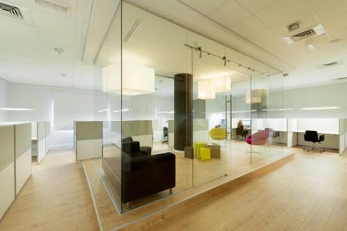 משרדי חברת sisense. צילום: גדעון לוין
