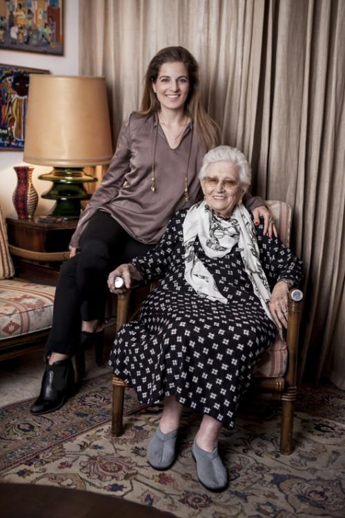 רות דיין ושרון טל | צילום: רון קדמי