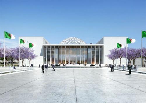 הדמיה של הפרלמנט באלג'יר