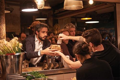 """הסניף הפריזאי של מסעדת המזנון. צילום: יח""""צ"""