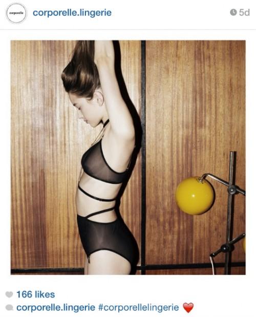 מתוך האינסטגרם של corporelle.lingerie