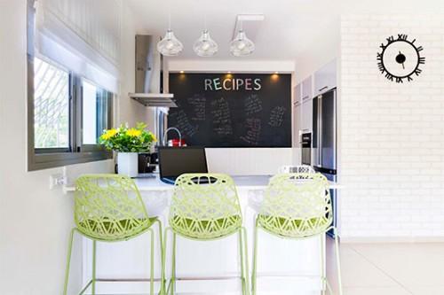 המטבח ופינת הישיבה | צילום: אביבית וייסמן