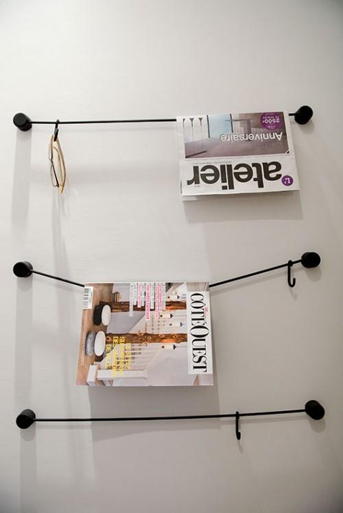 חדרי האמבטיה משקפים את השילוב בין פריטים נורדים־מודרנים לווינטג' ולעבודת יד | צילום: סיון אסקיו