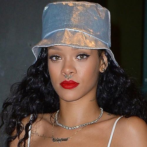 הספטום חוזר בקול מתכתי גדול. ריהאנה | צילום: GettyImages