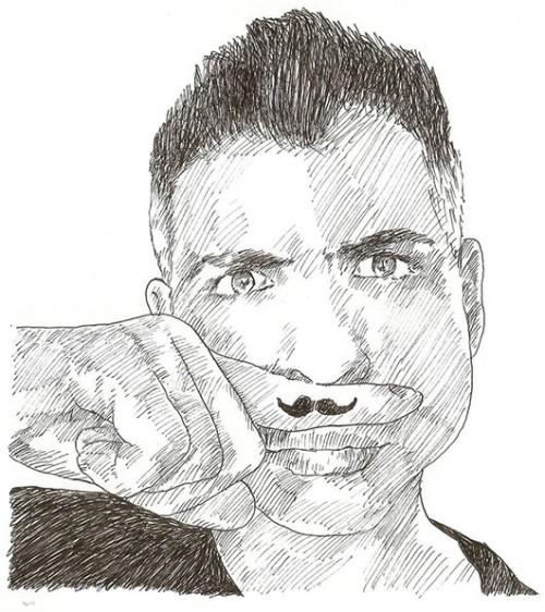אוטוריטה בתחום הסטיילינג. הסטייליסט ראובן כהן | איור: יובל ישראלי