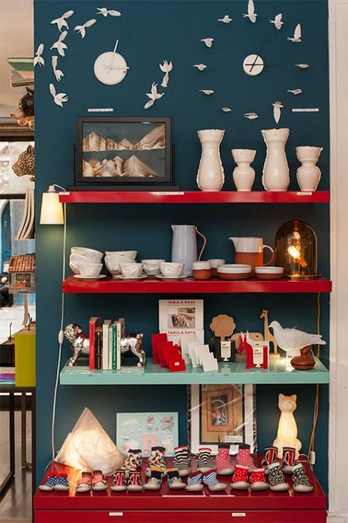 מגוון אקלקטי של פריטים פריטים המשלבים אלמנטים מהטבע בבית. לוקה לונה   צילום: צילום: רותם רייצ'ל חן