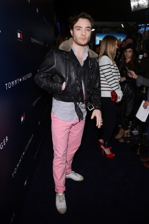 אד ווסטוויק לובש טומי הילפיגר   צילום: GettyImages
