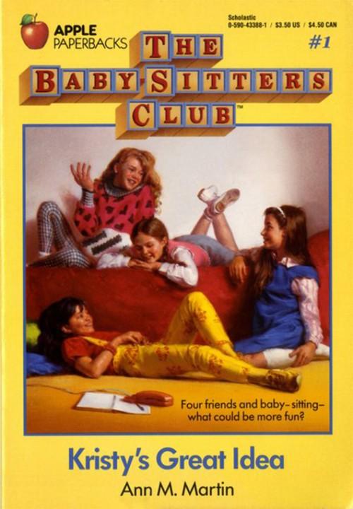 מועדון הבייביסיטר – עטיפת הספר