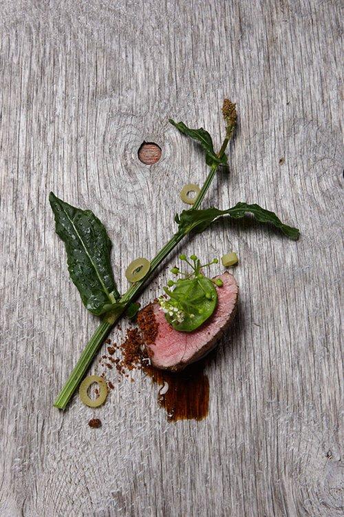 מנה במסעדת קוקס   צילום: Claes Bech Poulsen