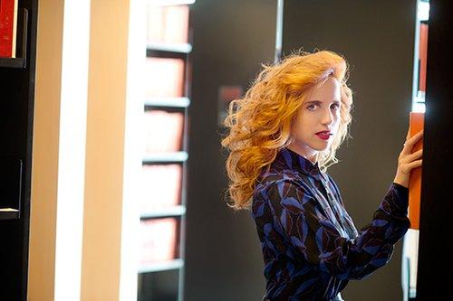 חולצה וחצאית מרני לבוטיק הלגה | צילום: מירי דוידוביץ