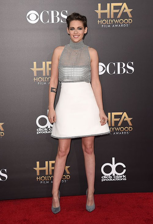 קריסטן סטיוארט בשמלה על פי בחירתה של טארה סווינון | צילום: GettyImages