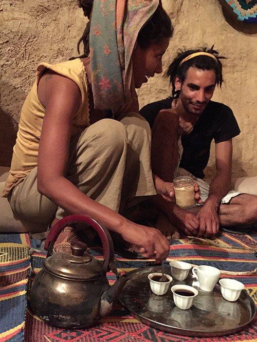 """החוויה האתיופית של אופק בקיבוץ סמר. צילום: יח""""צ"""