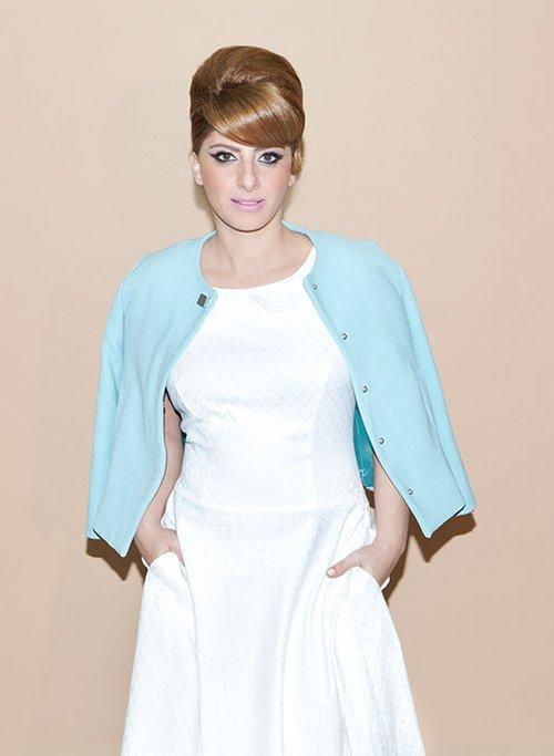 שמלה: נעמה בצלאל | ז'קט: זארה| צילום: עדי אורני