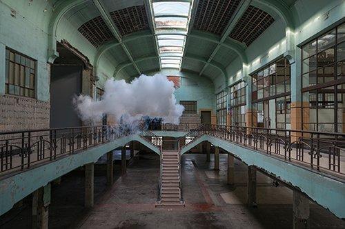 Nimbus Waterschei | צילום: באדיבוטת האמן וגלריה Ronchini, לונדון