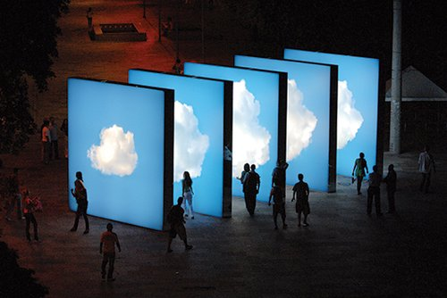 Nuvem (ענן) | צילום: באדיבות האמן וגלרייה Nara Roesler, סאו פאולו וריו דה ז'ינרו, ברזיל
