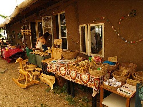 שוק ההחלפות בנהלל. צילום: דליה בלי