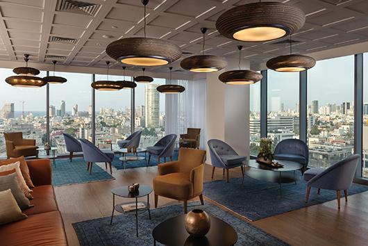 הטרקלין העסקי במלון רוטשילד 22 בתל אביב | צילום: איה בן עזרי
