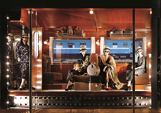 חלונות הראווה של לואי ויטון | צילום: סטפן מרטט