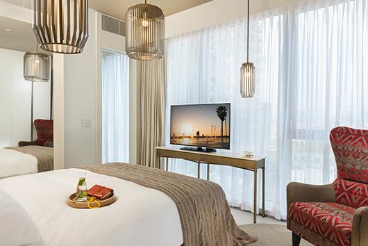חדר במלון רוטשילד 22 בתל אביב | צילום: איה בן עזרי