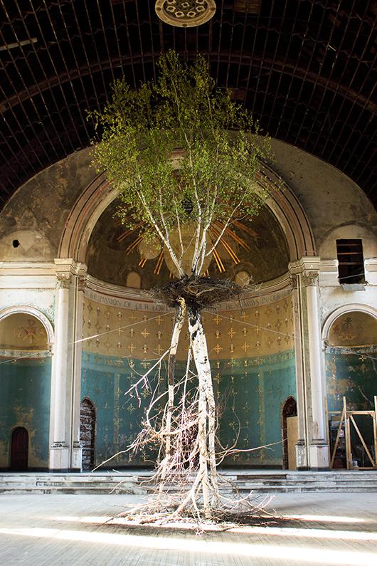 Global Tree Project: Hanging Garden | צילום: באדיבות האמן
