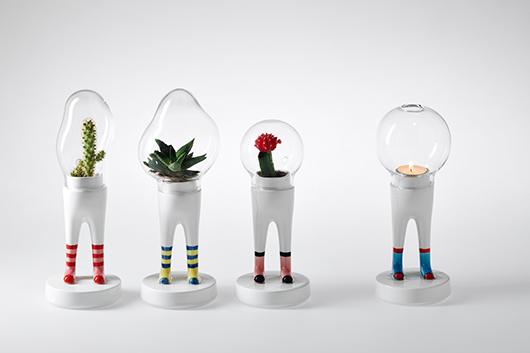 סדרת העציצים DOMSAI שעוצבה על ידי Matteo Cibic לבית העיצוב האיטלקי Bosa