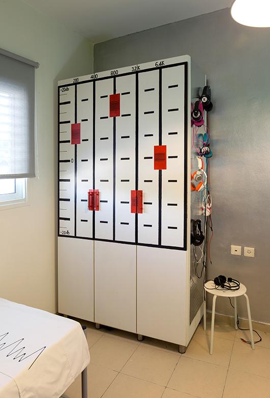 החדר האלקטרוני   צילום: נויה שילוני