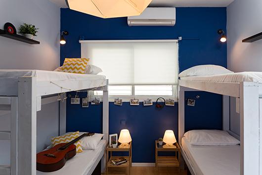 חדר בהשראת מוזיקת עולם   צילום: נויה שילוני