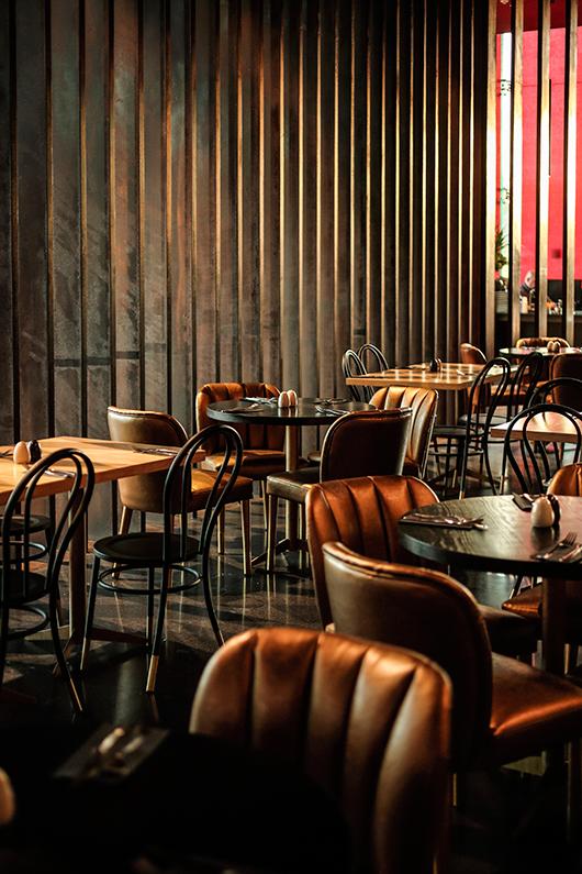 מסעדת clash של השף חיים טיבי במלון NYX   צילום: דן פרץ