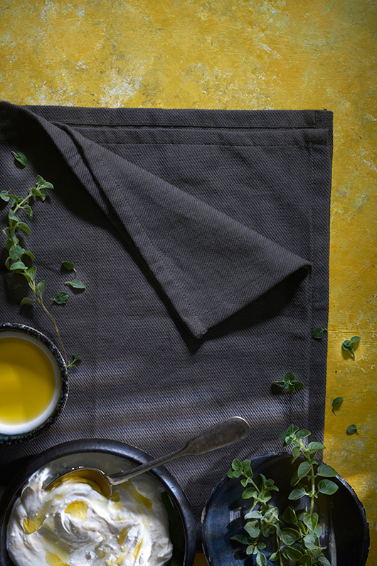 שאדי בשארה מחבר בין הלבנה והזעתר למטבח האיטלקי | צילום: אנטולי מיכאלו