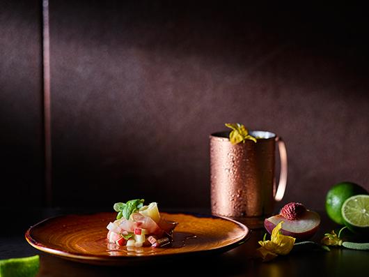 מנות מבית השף חיים טיבי ממסעדת clash במלון NYX   צילום: דן פרץ