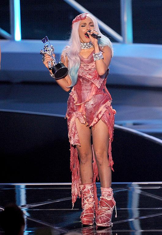 ליידי גאגא חושפת בשר | צילום: GettyImages