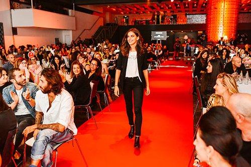 שלומית מלכה זוכה בפרס דוגמנית השנה 2016 | צילום: שי פרנקו