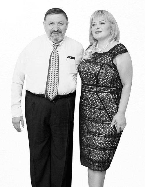 """ד""""ר סמיון ומירי בנסון   צילום: מאגר פרטי"""