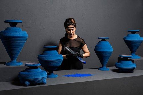 המצרים הקדמונים ייחסו לצבע הכחול תכונות של חיים, פוריות ולידה מחדש   צילום: Lisa Klappe