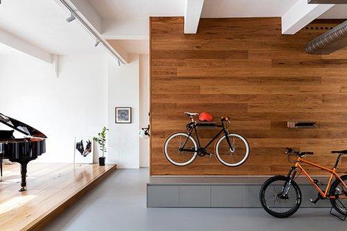 ניצול מקסימלי של שטח הדירה מבלי לחטוא בעיצוב יתר   צילום: Tom Ferguson