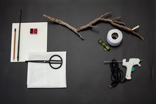 חומרים וכלי עבודה | הכנה: לינוי לנדאו | צילום: טל ניסים