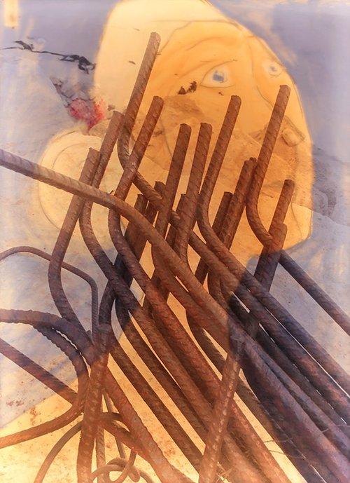 מתוך תערוכת היחיד של אריאלה ורטהיימר   צילום: אסקף