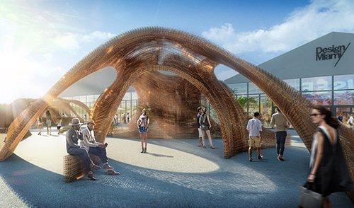 Flotsam & Jetsam: מיצב תלת ממד ענקי, שמייצג את המפגש בין הרוח המפורסמת של מיאמי לבין הצד הפחות מוכר שלה – התהוותה כמרכז של חזון יצירתי וטכנולוגי