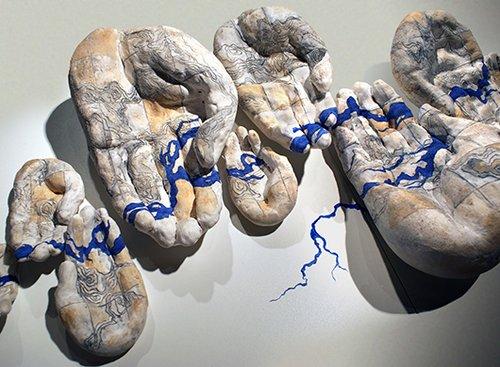 עבודה של שרבני דס גופטה | צילום: בריאן קלוג