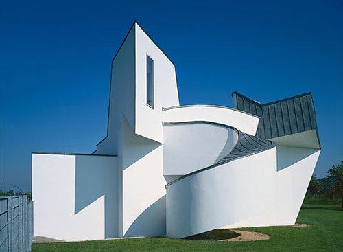 מבנה מוזיאון ויטרה לעיצוב בתכנון אדריכל פרנק גרי | צילום: Thomas Dix