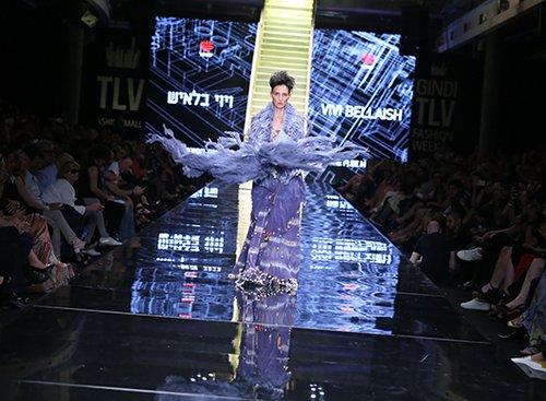 יעל רייך בערב הגאלה של שבוע האופנה גינדי תל אביב 2016 | צילום: אבי ולדמן