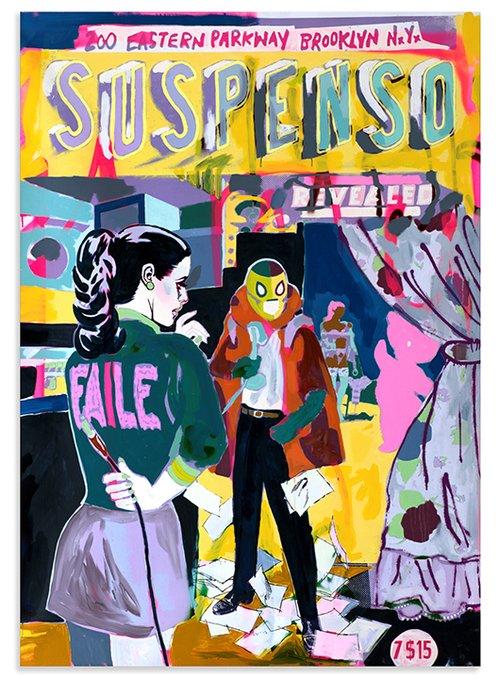 ייצוג המעבר של אמנות הרחוב לגלריות ומוזיאונים | אמנים: פטריק מקניל ופטריק מילר