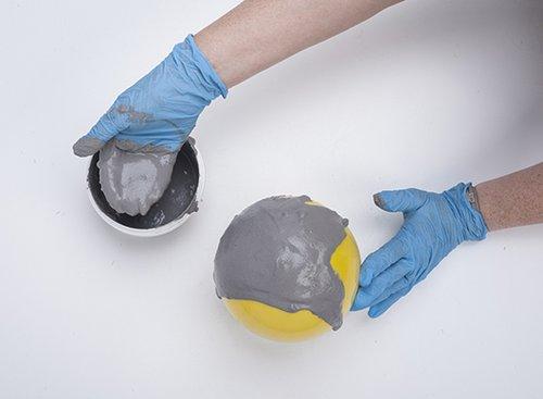 שלב 1: כדור בטון   צילום: איליה מלינקוב