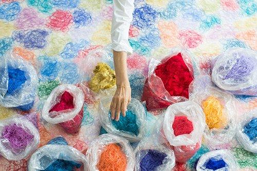 גישות יצירתיות להתמודדות עם שאריות טקסטיל | צילום: Luisa Cevese – Spread Threads