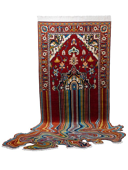 """שטיח Oiling, גודל 100X150 ס""""מ, 2012"""